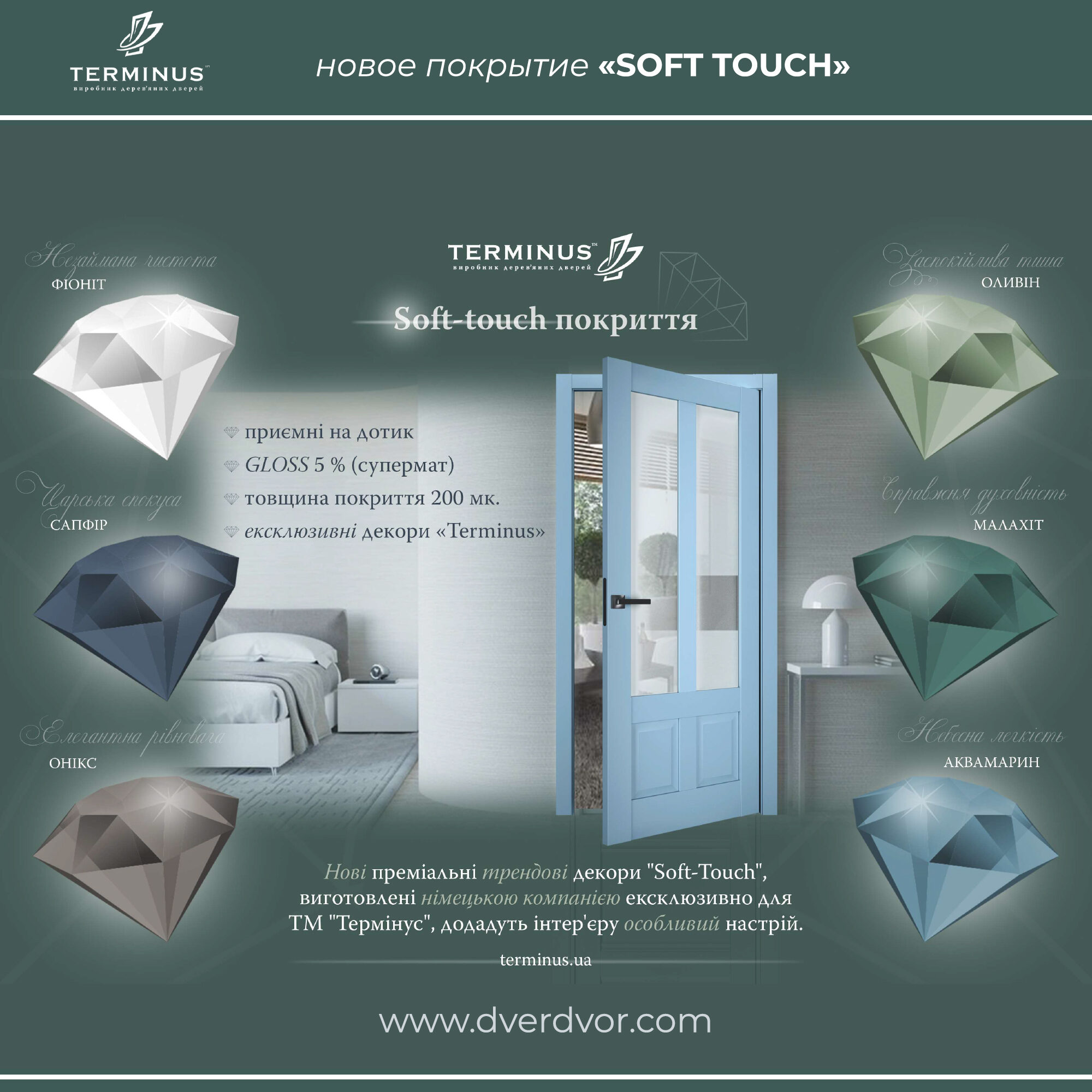 Новое покрытие Soft-Touch