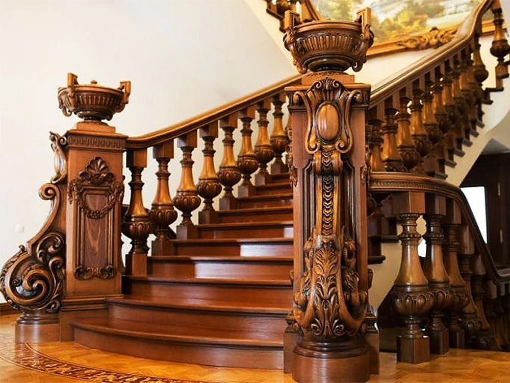 Изготовление-деревянных-лестницы