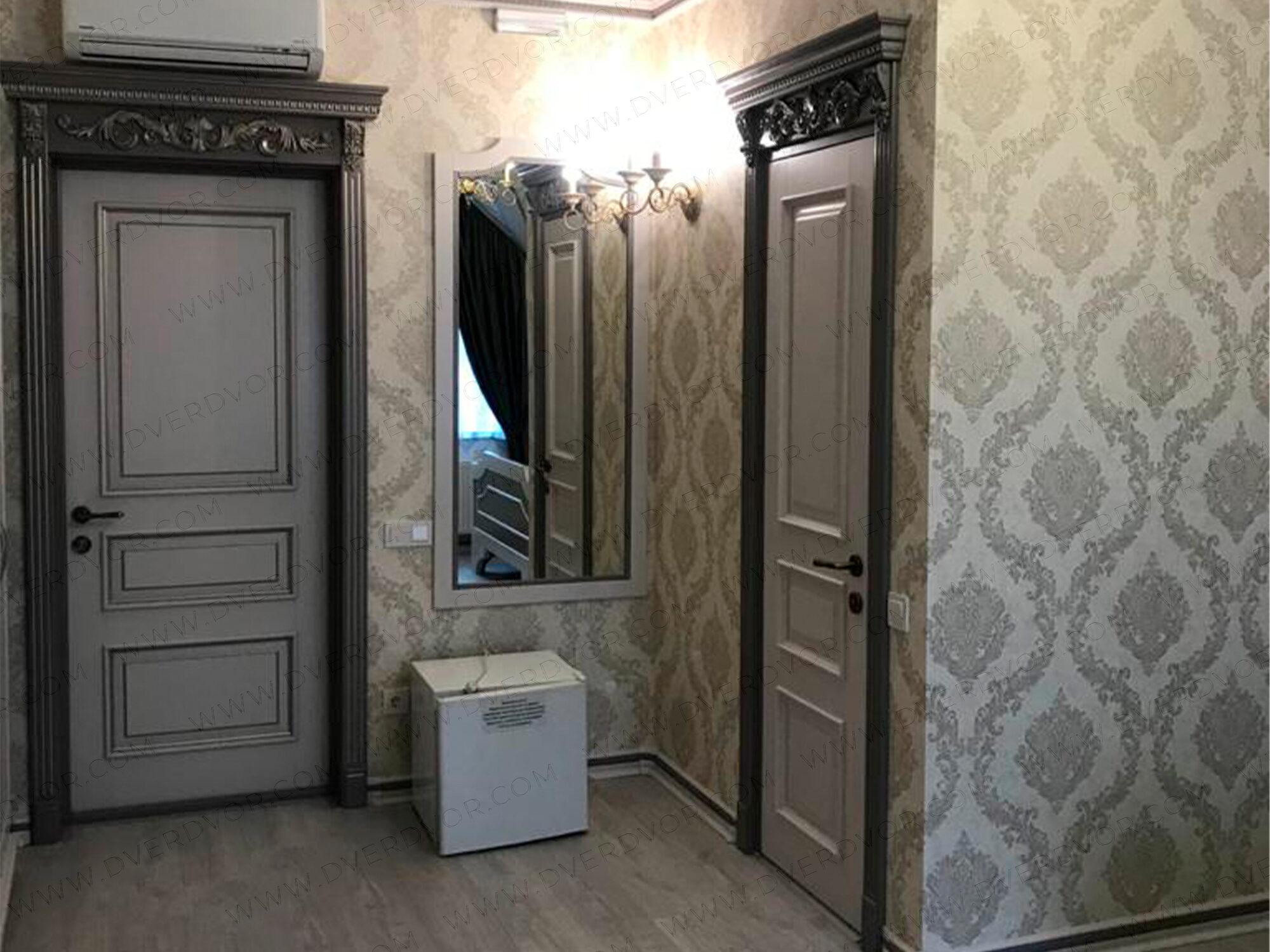 Эмалевая дверь из ясеня в отеле «Grand Prix»